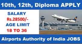 Urgent hiring guard, loder,  in airport job all vacancies