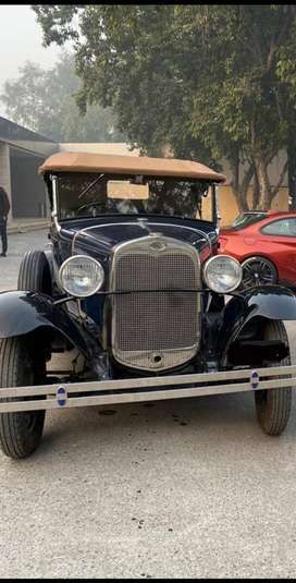 1930 Ford Model A Convertible Sedan