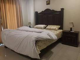 3Bed Furnished Brand new Apartment Available for Rent in bahria phase6