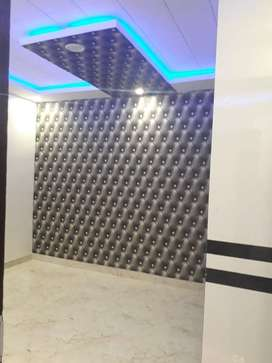 modern 3bhk floor with car parking facility 90% Home loan by bank