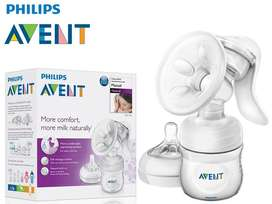 Original Avent Manual Breast Pump for Baby Feed