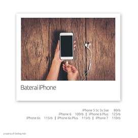 Baterai iPhone Original Battery Batre Batrai Batere