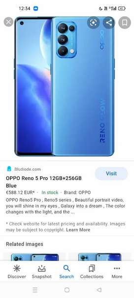 Oppo reno5pro
