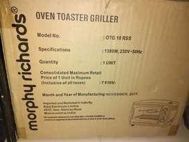 Morphy Richards Oven toster griller OTG