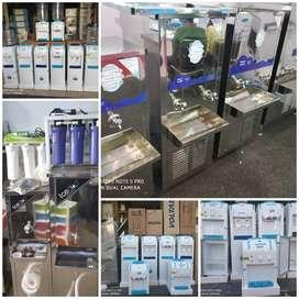 Stainless Steel Water Cooler, 90W Usha 18U FCC Bottled Water Dispenser