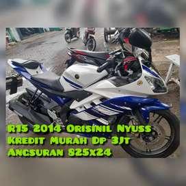 R15 2015 V2 km30rban mesin Maknyuss Jaminan