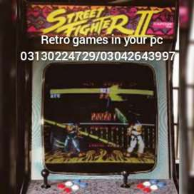 Arcade game machine softwer available