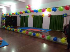 Hall for activity classes