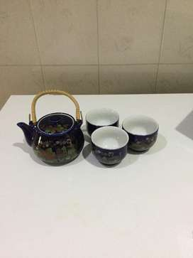 Chinese tea/qawa set