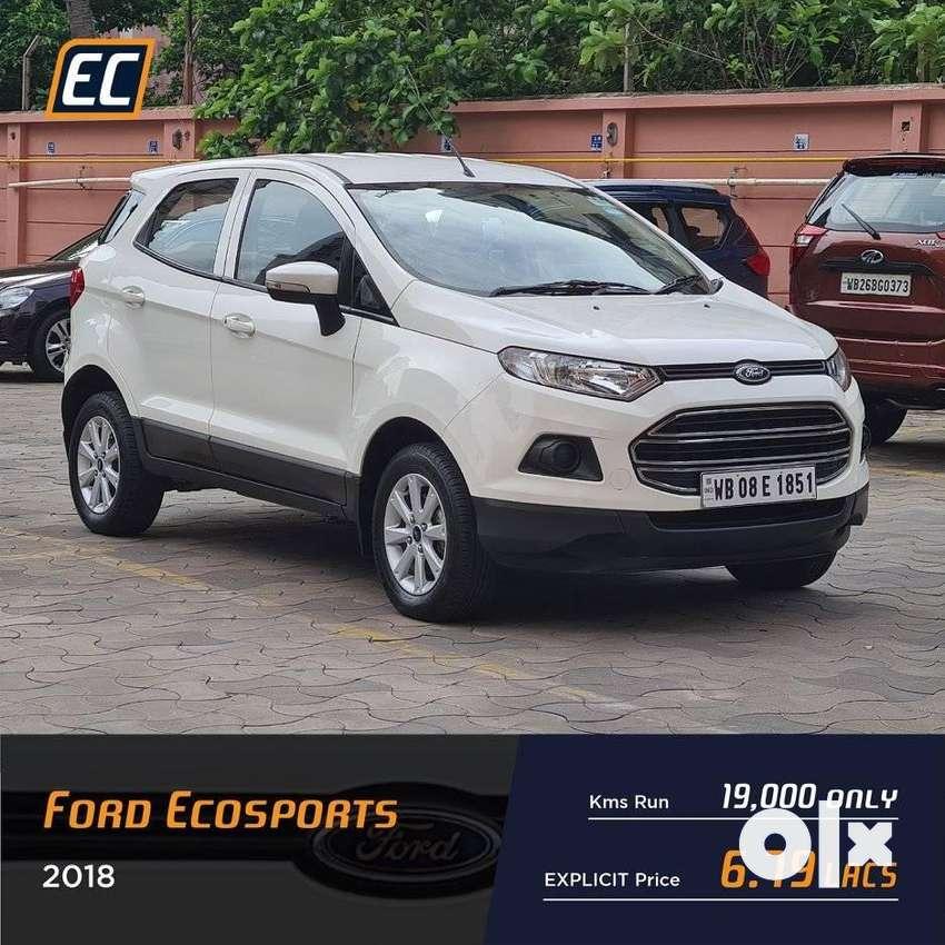 Ford Ecosport 1.5 Petrol Titanium, 2018, Petrol