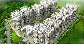 Gated community apartments including