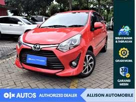 [OLXAutos] Toyota Agya 2018 1.2 G AT Merah #Allison