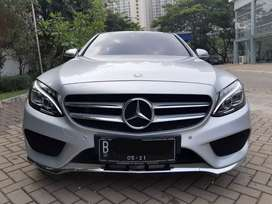 Mercedes benz C250 AMG thn 2016 silver