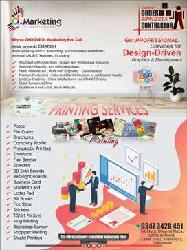 Printing Services & Digital Marketing