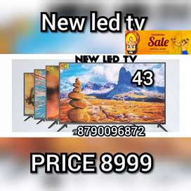 Its BRAND NEW SMART 43 INCH LED TV FULL HD QLED WITH 2 YEAR WARRANTY