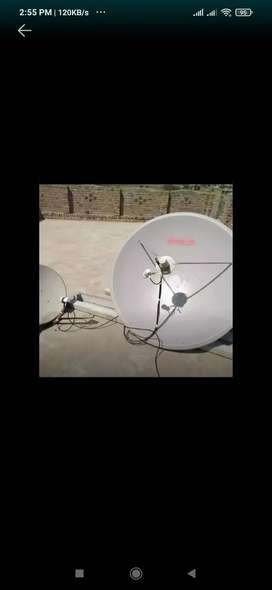 Dish Installation only 1000