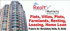 Plot for sale at Jigar Colony in Moradabad
