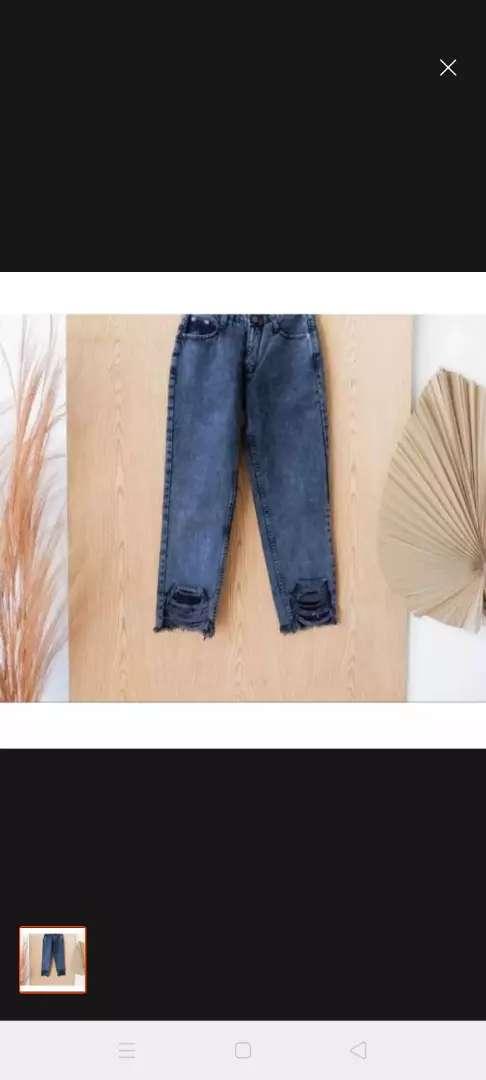Celana jeans tebal pull bear