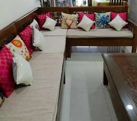 Teakwood sofa