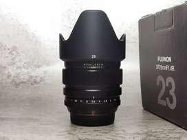 Fujinon XF 23m F1.4 Mulus Lengkap Fuji Fujifilm