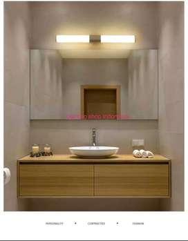 h273 lampu dinding wastafel led 8w 40cmwhite meja rias mirror light