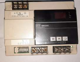 Omron Industrial Power Supply 24v 20A with display