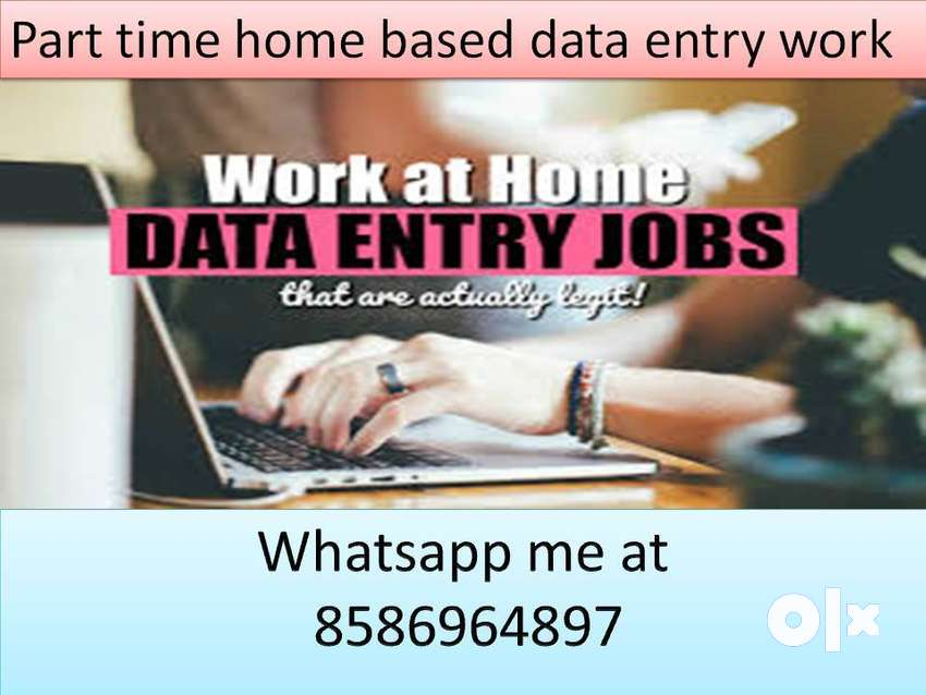 home based job available typing work part time data entry job 0