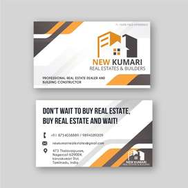 7 cent Commercial plot at Vadiveeswaram main road, Nagercoil