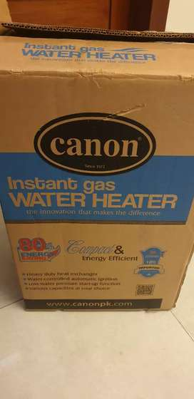 Canon Instant Gas Water Heater