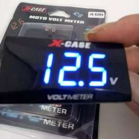 jam dan voltmeter mantap