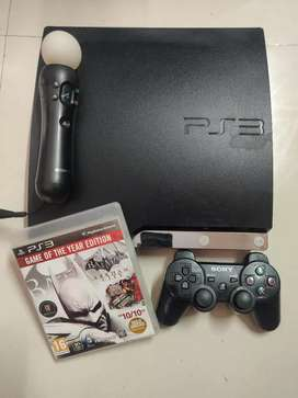 Ps3 with move in excellent condition