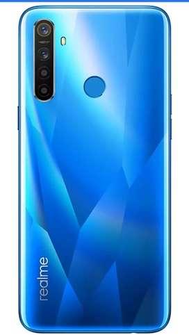 Realme 5s blue