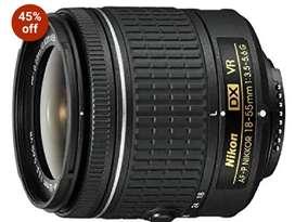 Nikon vr lens h 18 55
