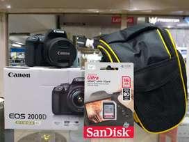 Kredit Kamera Canon DSLR EOS 2000D
