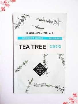 Masker Wajah / Sheedmask Etude House Tea Tree
