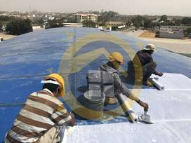 Roof Heat Proofing Roof Insulation Roofs Cool & Leakage Waterproofing