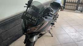 Ninja 250 abs ltd. Low km 8rban, full ori, pajak hidup