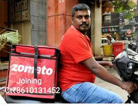 ZOMAATO HUGE OPENINGS FOR DELIVERY EXECUTIVES
