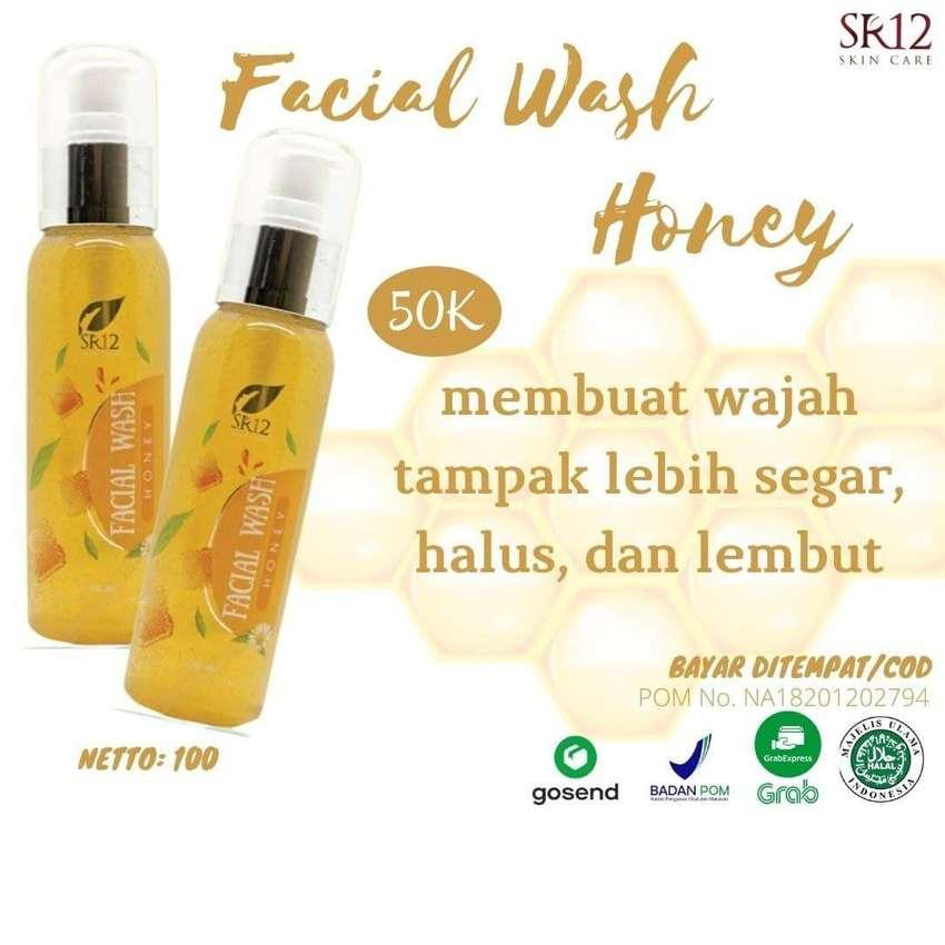 Bisa COD! Facial Wash Honey SR12