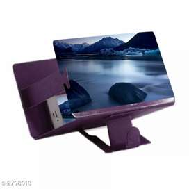Personal mobile phone screen Magnifier & holder