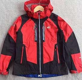 Jaket MILLET EXTREME EXPERT all weather -  Layer - mens original Merah