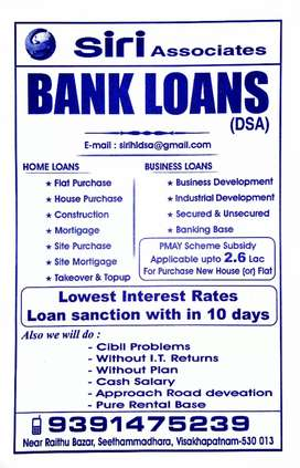 Home Loans and Businesses Loans