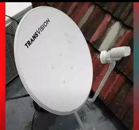 :Parabola Transvision HD resmi Indramayu paket setahun cuma rp790k: