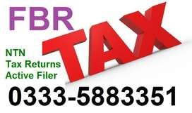 INCOME TAX - FBR - ONLINE NTN Registration - Tax Returns - Filer