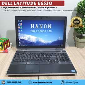 Dell Latitude E6530 Premium Gaming Design Core i7-3720QM Nvidia 16GB