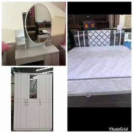 Spring bed dan kamar set kredit tnpa Dp cicilan mulai dari 400 ribuan