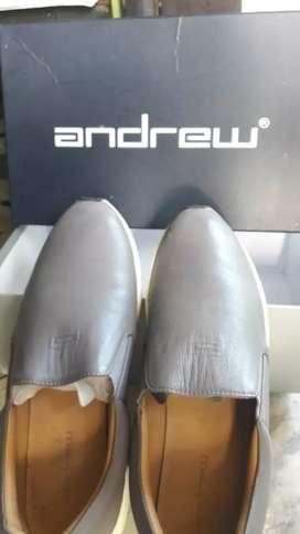 sepatu kulit sneaker sneakers andrew ori uk 38-39