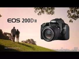 Cash / Kredit Kamera Canon EOS 200D Mark II Promo 0% + Free 1x Cicilan