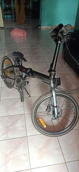 Sepeda lipat foldx z11