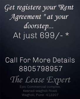 Register rent agreement